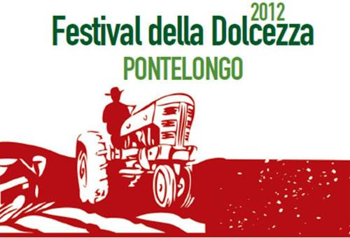Manifesto del Festival della Dolcezza di Pontelongo