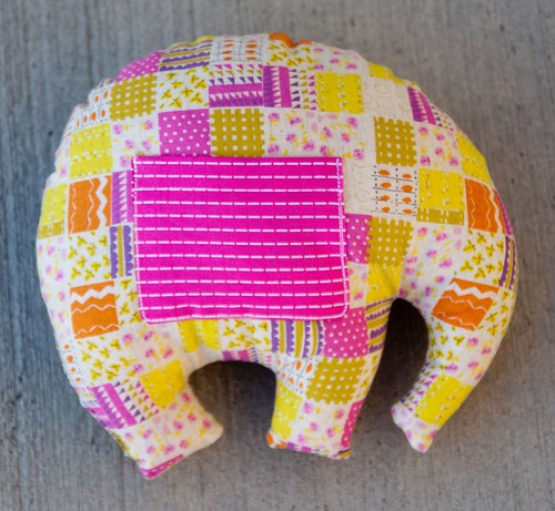 Elephant Softie from Ruby Star Wrapping