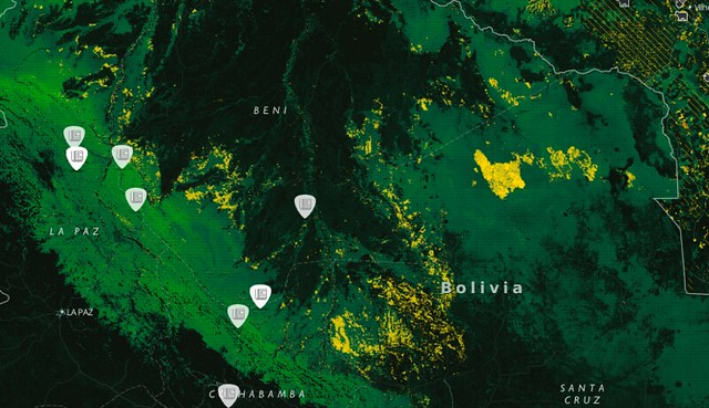 InfoAmazonia adds deforestation data for all 9 Amazonian countries