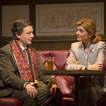 Alan Cox and Gretchen Egolf in the Huntington Theatre Company's production of Harold Pinter's BETRAYAL. Nov. 9 – Dec. 9, 2012 at the Avenue of the Arts / BU Theatre. huntingtontheatre.org. Photo: T. Charles Erickson