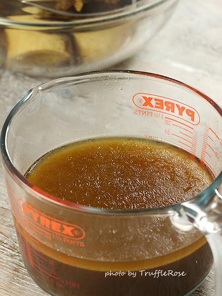 烤汁。Jus d'un rôti-121111