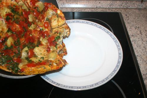 30 - Auf Teller gleiten lassen / Put on dish