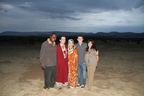 8176351531 25e0cc9cdc Guests Renew Vows in a Traditional Maasai Wedding Ceremony