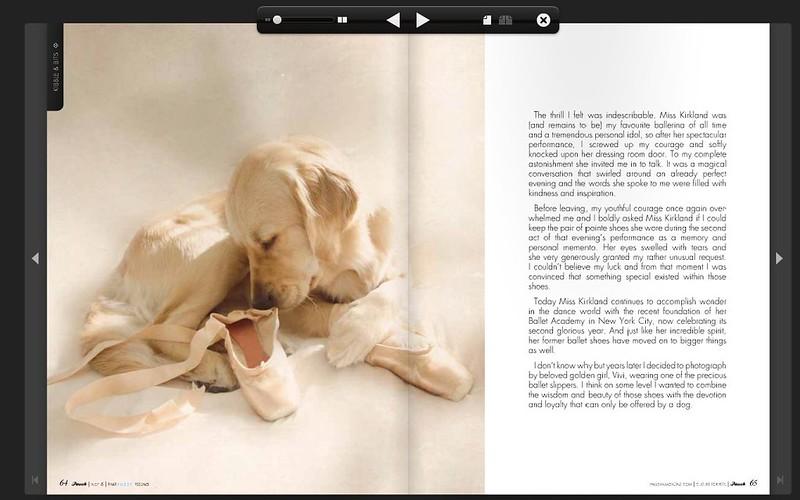 Pawsh Magazine Vivi's Ballerina Dreams