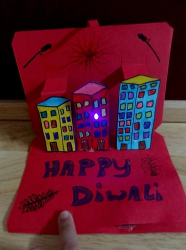 Diwali Greeting Cards The Fine Art Of Electronics Under Construction