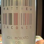 Matt laconis Moscato Lodi 2011 Front