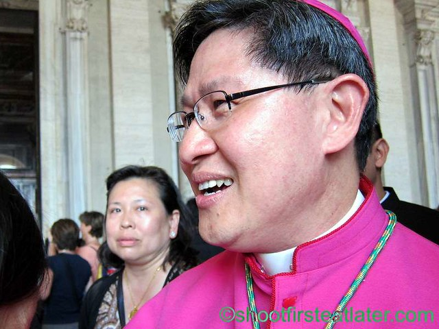 Papal mass at the Vatican- Archbishop Luis Antonio Tagle-003