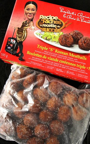"Jackie Koh's Recipe to Riches PC Triple ""S"" Korean Meatballs"