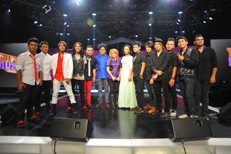 Top 6 yang Bakal Ke Anugerah Juara Lagu- Drama Band, Hafiz,Stacy,Asmidar dan Azlan & The Typewriter