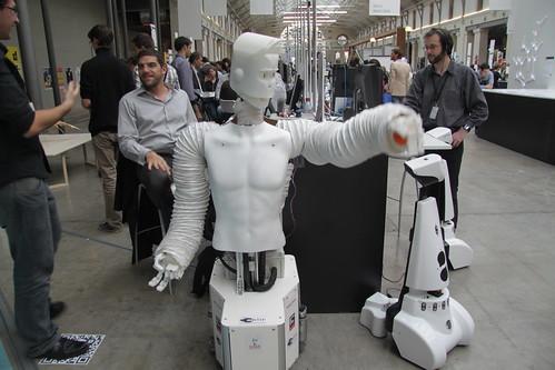 Robot ?Futur en seine 2012