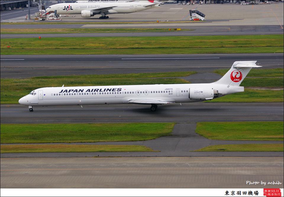 Japan Airlines - JAL / JA8070 / Tokyo - Haneda International