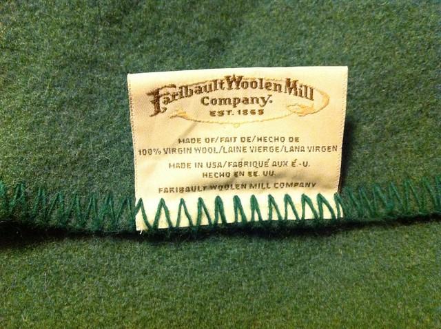 Vintage Faribault Wool Blanket Flickr Photo Sharing