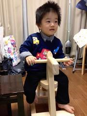 木馬に乗るよ (2012/11/17)