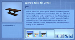Spring's Table for Coffee