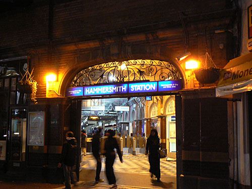 Hammersmith station outside.jpg