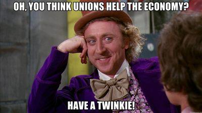 Twinkies - Willie Wonka Unions