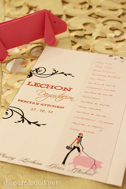 Lechon Degustation