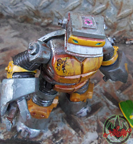 Nickelodeon  TEENAGE MUTANT NINJA TURTLES :: METALHEAD { tOkKUSTOM JUNKYARD Rust WASH } xiii (( 2012 ))