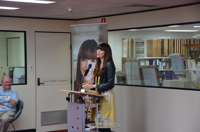 Kate Morton at Mosman Library