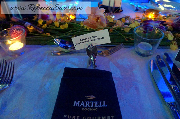 Martell Pure Gourmet Dinner - Chef Emmaneul Stroobant-001