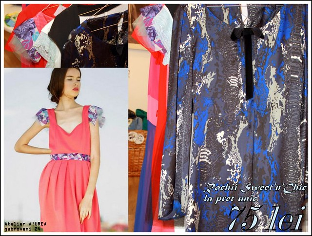 Sweet'n'Chic dress collection @ 75 lei!