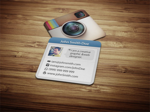 Photo Style Social Card