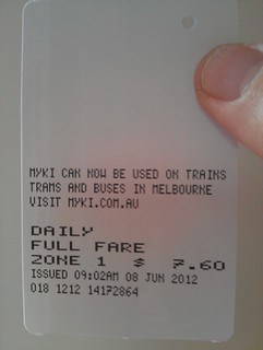 Daily Metcard