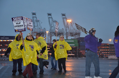 2012 11 20 Port of Oakland Shutdown by SEIU Local 1021