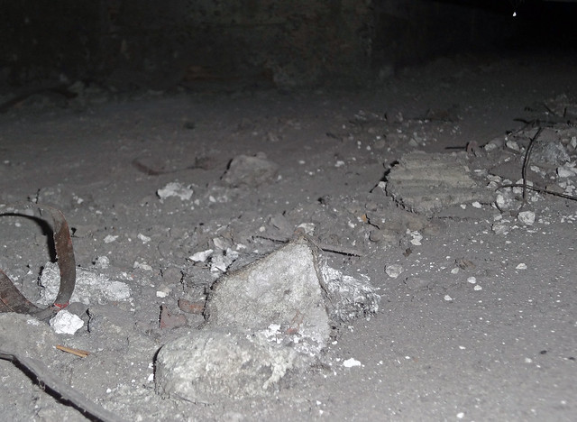 hazardous asbestos debris in crawlspace flickr photo sharing