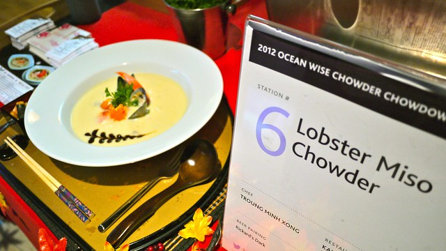2012 Ocean Wise Chowder Chowdown | Vancouver Aquarium