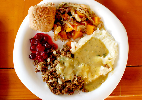 Our Thanksgiving Meal (2012)