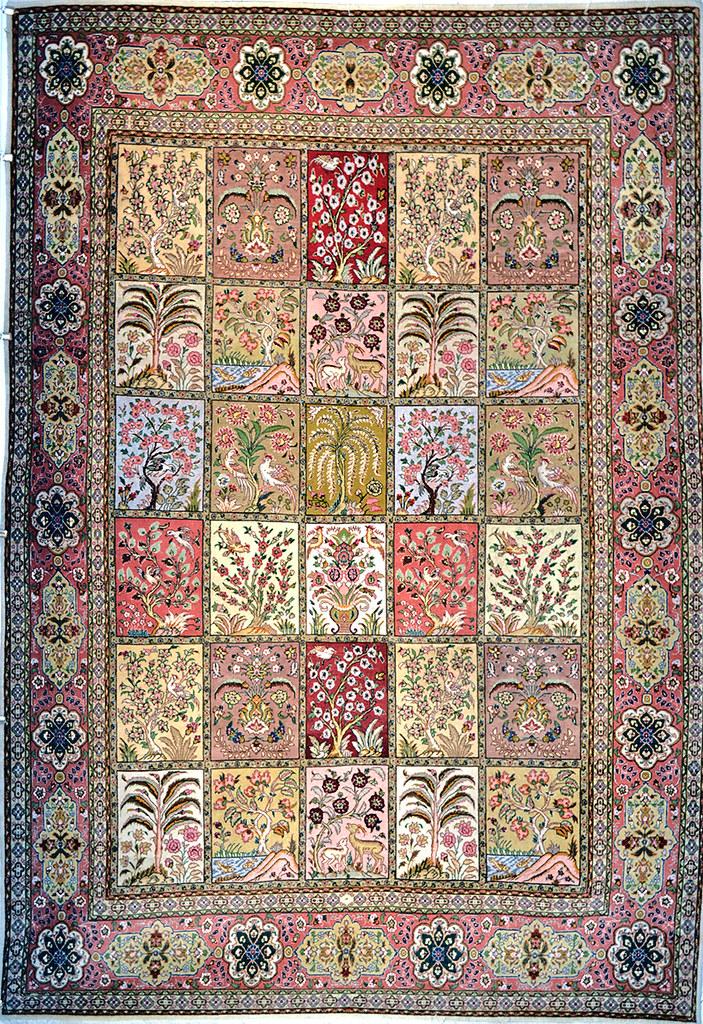 7' x 10' Persian Rug Hand Woven