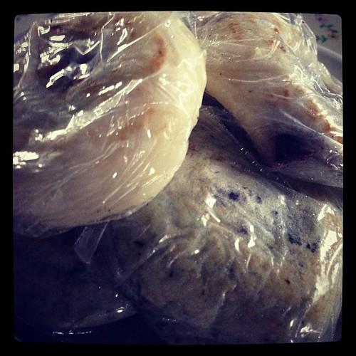 アグリのドリームなんチャラで買ってきた梅ケ枝餅アンコが少なかった