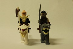 LEGO The Hobbit Attack of the Wargs (79002) - Yazneg & Hunter Orc