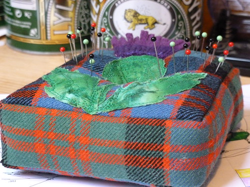 Thistle pin cushion