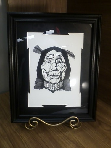 Art work by South Dakota Housing Specialist Ken Lynch.  Lynch is a member of the Red Cliff Band of Chippewa Indians.