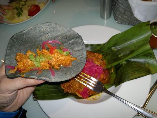 Cochinita Pibil en Azul Condesa