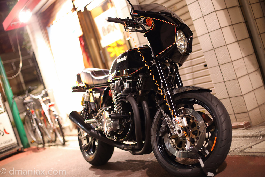 Walk with 6D : Kawasaki Z1-R Z1000