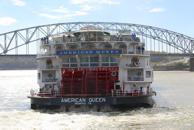 American Queen Chugging Away