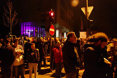 Protests against the corruption in Maribor