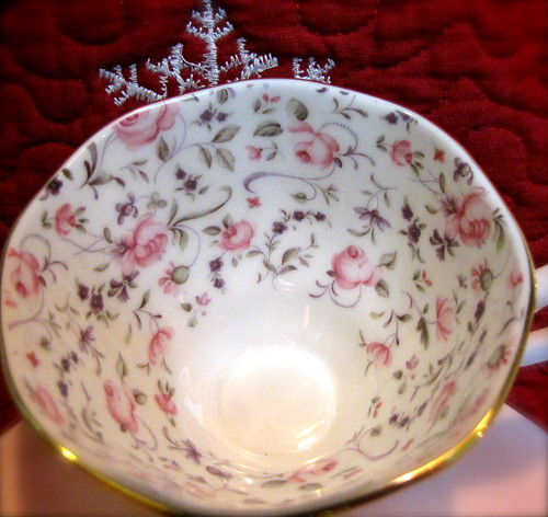 Royal Albert Confetti Rose Teacup
