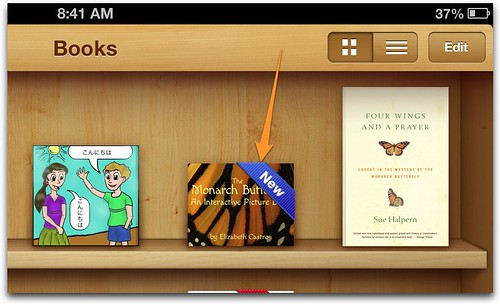 iBooks versioning: New banner