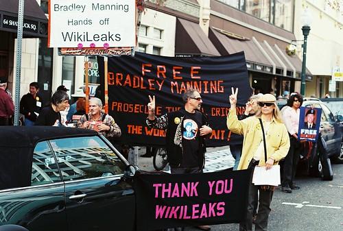 Free Bradley Manning Protest