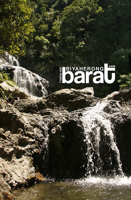 small catch basin of balagbag falls real quezon