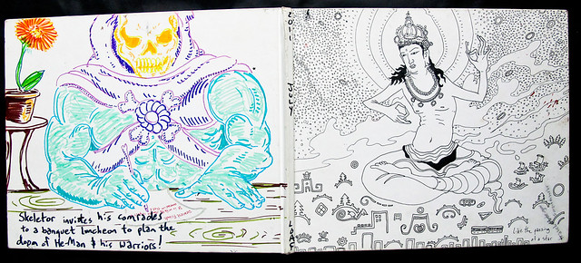 Sketchbook Cover 2011 - July