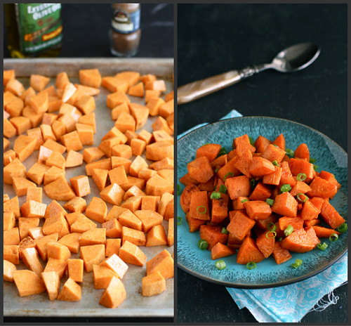Roasted Sweet Potatoes Recipe with Chinese Five-Spice Powder by Cookin' Canuck