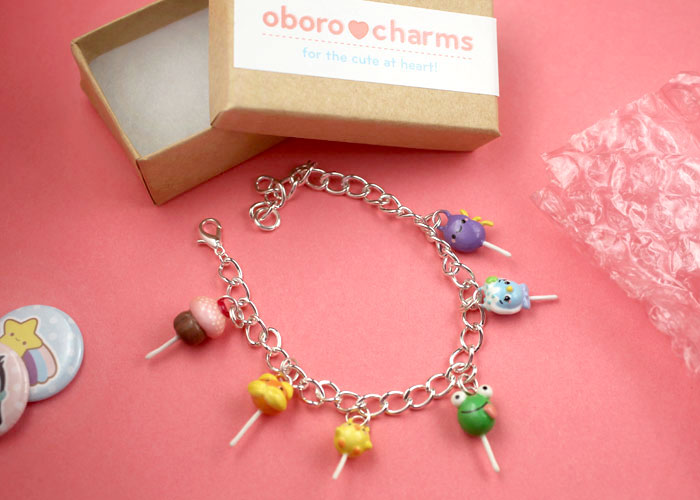 Cake Pop Charm Bracelet