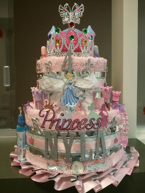 Cinderella Birthday Cake Decorations