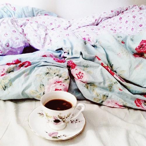 morning hot chocolate, sans milk.