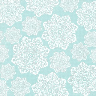 15 batik flower Snowflakes various sizes 12 and a half inch SQ 350dpi